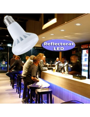 LED Reflectora R50 5,5W E14 230V HTPC+Aluminio