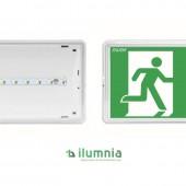LUMINARIA LED DE EMERGENCIA Y EVACUACIÓN EXIT s 250 Lm