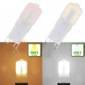 LED G9 3W HTPC 230V 360° tonos de luz