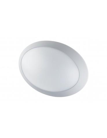 Plafón Sofía LED Oval gris claro