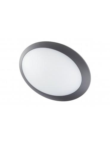 Plafón Sofía LED 16w Oval antracita