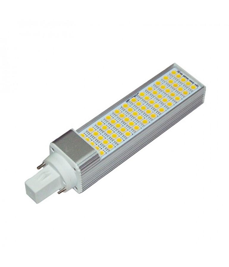 LED PL G24 10 W 230V Orientable Aluminio