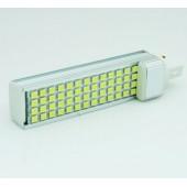 LED PL G24 10 W 230V Orientable Aluminio detalle