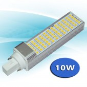 LED PL G24 10 W 230V Orientable Aluminio vistas