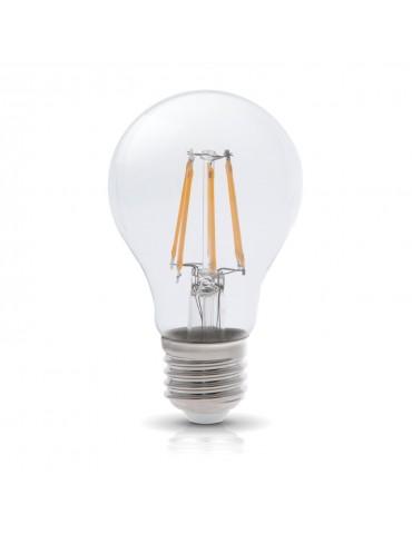 LED VINTAGE RETRO Estándar A60 8W E27 CRISTAL vista