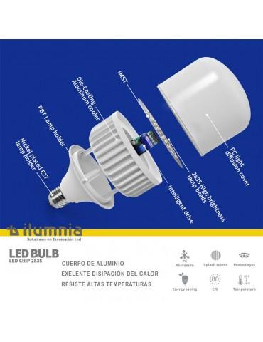 Interior BOMBILLA INDUSTRIAL LED 60W E27 T120 230v