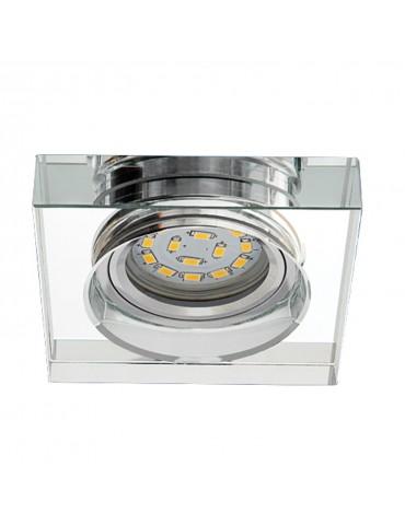 Aro empotrar cristal transparente