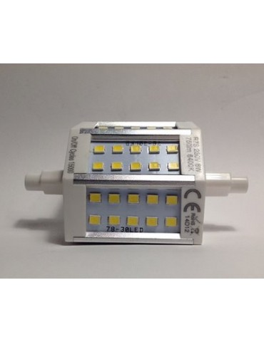 Lineal R7S Multiled 8W 78 mm Aluminio