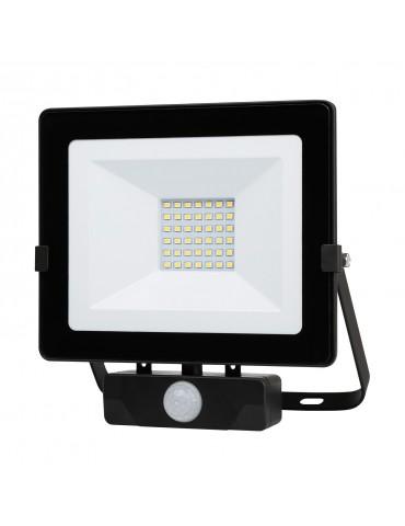 Foco Proyector LED 30W  sensor de movimiento IP65