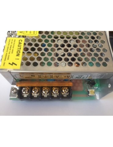 Fuente Alimentación 50W 12VDC Metálica IP20