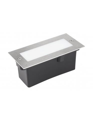 Aplique Pared LED 2,5W Rectangular Clara 170 empotrar