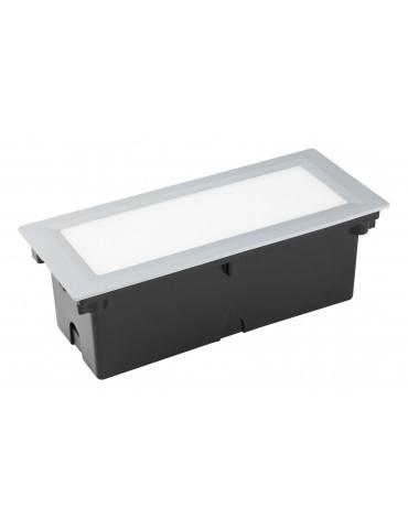 Aplique Pared LED 6W Rectangular Clara 300 empotrar