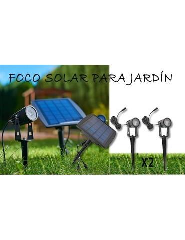 Conjunto LED solar jardín modelo SPIKE