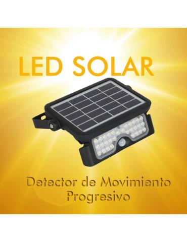 Foco Solar LED MHC 5W Sensor de movimiento