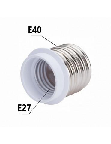Adaptador cerámico E40-E27 230V