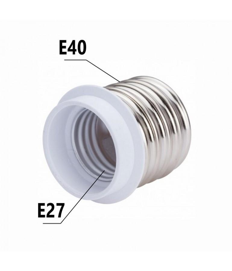 Adaptador E40-E27 230V