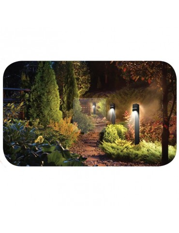 Poste LED Jardín una cara  QUAZAR 12 jardín