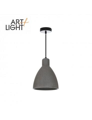 Lámpara colgante industrial CEMENTO VIGE N