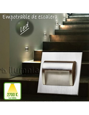 LED empotrable de Escalera...