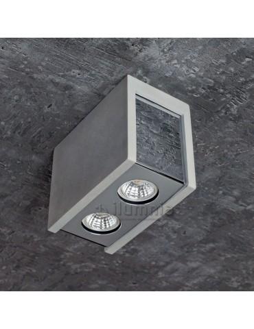 Aplique doble rectangular de techo PURO MASSO C foto