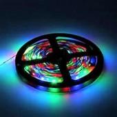 TIRA DE  LED RGB 12VDC 14,4W IP65 60LEDS  SMD5050 flexibles adhesivas