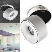 Aplique LED 10W OSLO Blanco Basculante empotrable