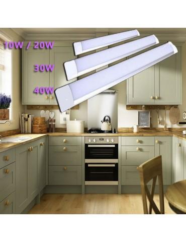 REGLETA LED SLIM 30W 90cm Aluminio+PC