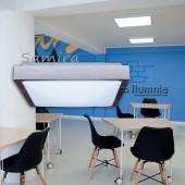 Plafón techo SAMIRA 30x30cm 2xE27 CUADRADO