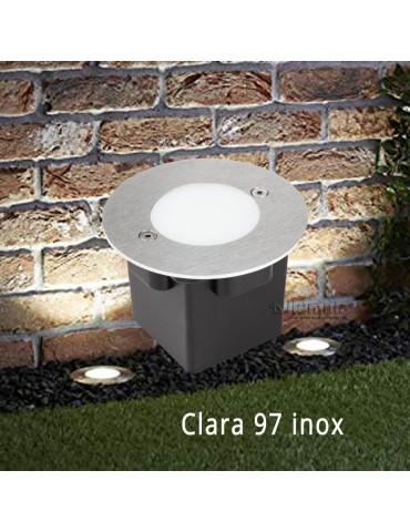 Aplique Pared LED 2W Circular Clara 97 empotrar foto