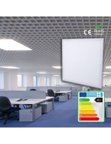 PANEL LED SLIM oficina 48W 600x600mm