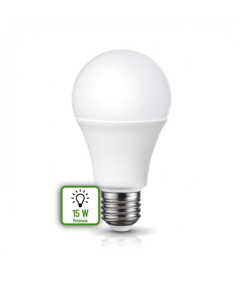 LED Estándar A65 15W E27 HTPC Aluminio 220°