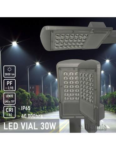 LUMINARIA VIAL LED 30W