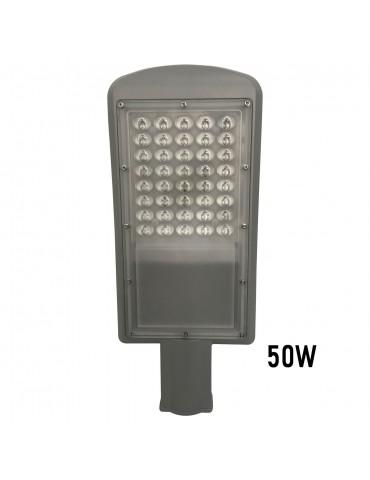 Luminaria vial 50w vista inferior