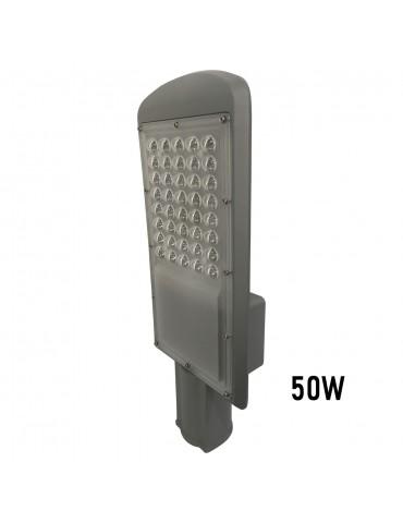 Luminaria vial 50w vista perfil
