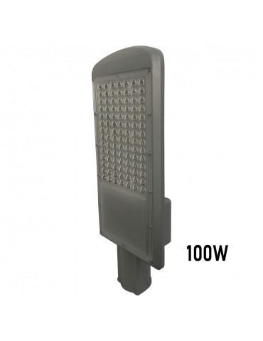 Luminaria vial 100w vista perfil