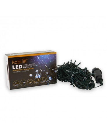 Luces Led Navidad Blancas Exterior 100 LEDS