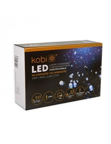 Luces Navidad Blancas Exterior 100 LEDS caja presentación