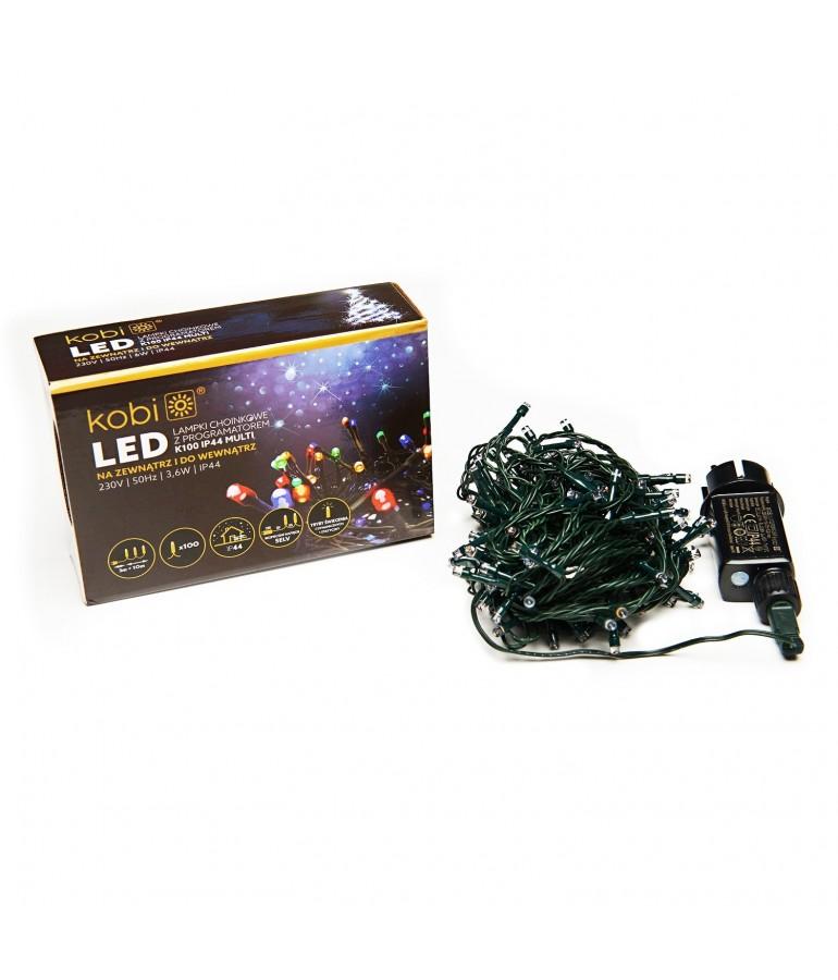 GUIRNALDA LED NAVIDAD MULTICOLOR EXTERIOR 100 LEDS