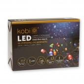 Luces Led Navidad Multicolor Exterior 100 LEDS caja presentación