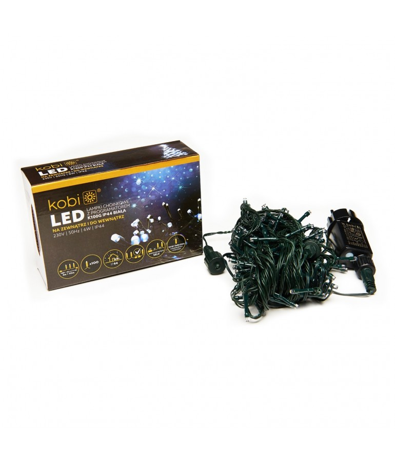 Guirnalda LED BLANCAS EXTERIOR 100 LEDS INTERCONECTABLES