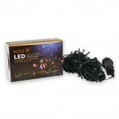 Guirnalda LED Multicolor EXTERIOR 100 LEDS INTERCONECTABLES