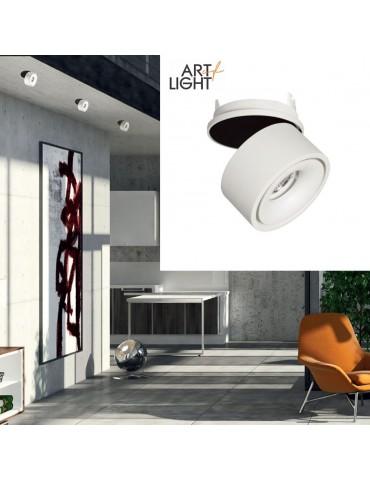 Aplique LED 8W MINI OSLO empotrable basculante Blanco