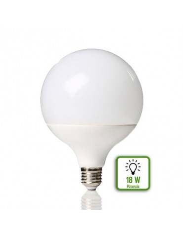 LED GLOBO G120 18W HTPC+Aluminio E27 230V