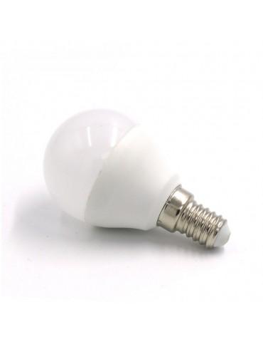 Bombilla LED Esférica P45 7W E14  HTPC+Aluminio 220°