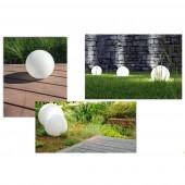 Modelos Bola luminosa de jardín tamaño M E27