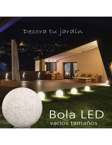 Bola Luminosa Exterior E27 Tamaño XL aplicaciones