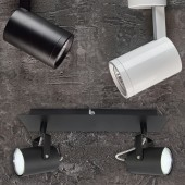 Aplique de techo GU10 NUUK Blanco Basculante