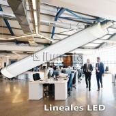 LED lineal integrado 18W Cortez 2