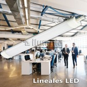 LED lineal integrado 60w Cortez 2