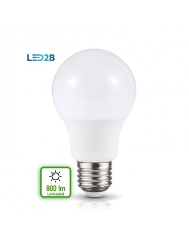 Bombilla LED A60 10W E27 HTPC+Aluminio 220°